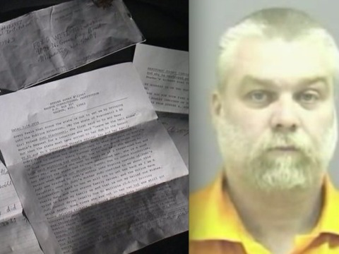 'Making a Murderer's' Steven Avery sends letter: 'The truth will set me free'