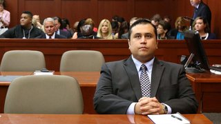 George Zimmerman punched in face at Florida restaurant