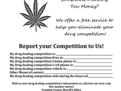 Kentucky sheriff's office asks drug dealers to rat out rivals