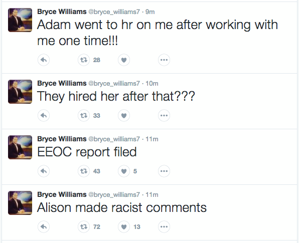 Bryce Williams Twitter