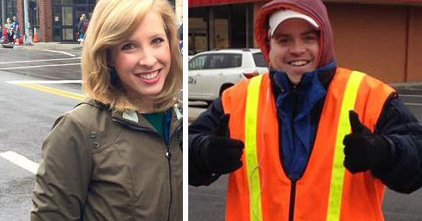 Suspect dead from own gun after 2 journalists killed on air
