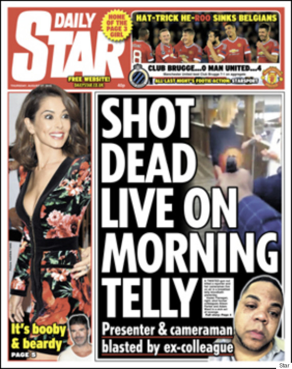 va-shooting-daily-star-front-page