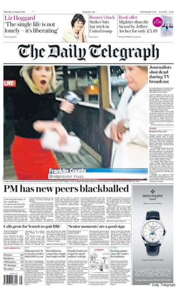 va-shooting-daily-telegraph-front-page