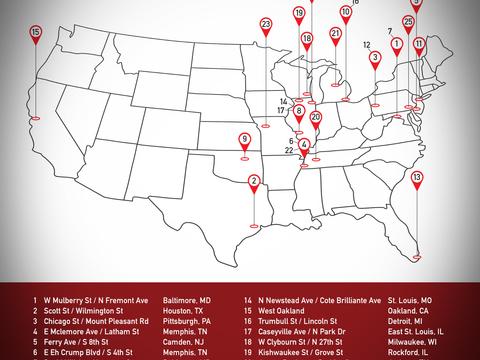 25 Most Dangerous Neighborhoods In America