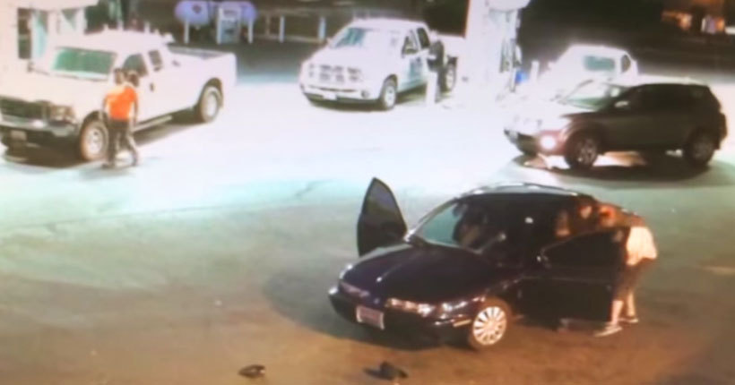 Video shows car theft 'fail' at Pierce County gas station as owner takes back his vehicle