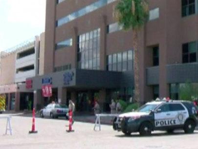 Las Vegas police officer shot in ambush Sunday