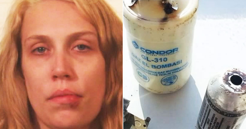 Woman charged in tear gas attack on ex-boyfriend's girlfriend