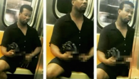 Man who exposed himself on subway arrested after Instagram post
