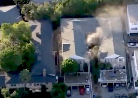 Homicide investigation: UCLA student found in burning apartment