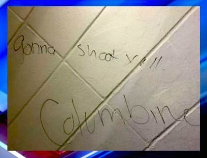 Two students arrested after 'Columbine' threats at high school