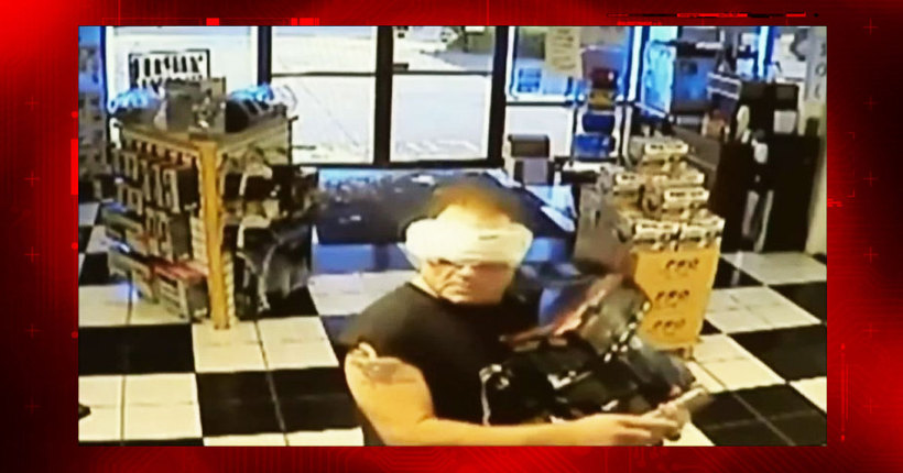 Sheriff: Man breaks into battery store wearing maxi pad as mask