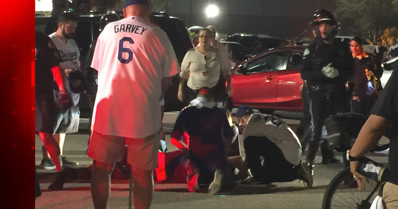 Chief Beck: Mother and son 'responsible' for Dodger Stadium parking lot assault