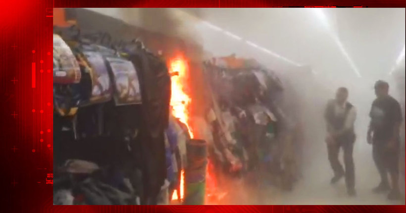 Video shows Halloween costumes on fire at San Leandro Walmart