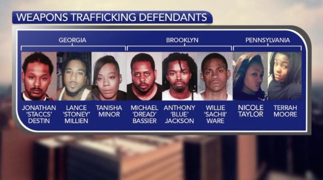 8 charged for trafficking guns across state lines in Chinatown buses