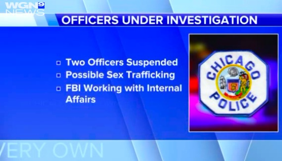 FBI investigating veteran cops for sex trafficking
