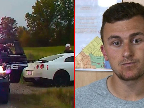 VIDEO, 911 CALL: Johnny Manziel's traffic stop
