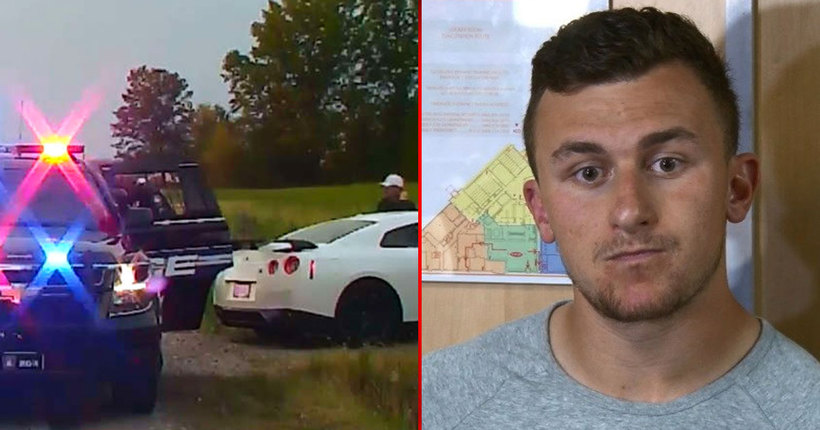 VIDEO, 911 CALL: Johnny Manziel's traffic stop