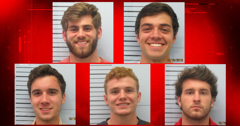 Ole Miss students charged in fraternity attack