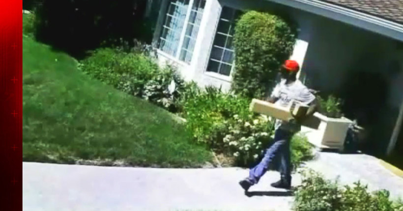 Sophisticated ring of 'porch pirates' used app to track packages