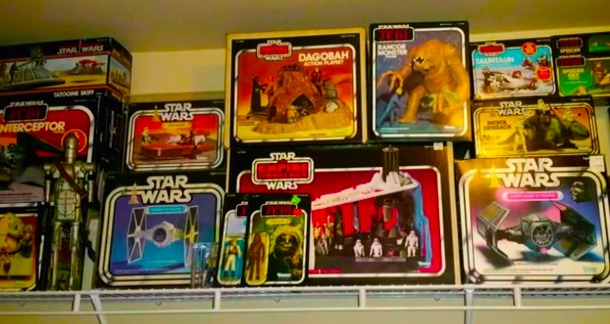 $45K 'Star Wars' collection is taken far, far away