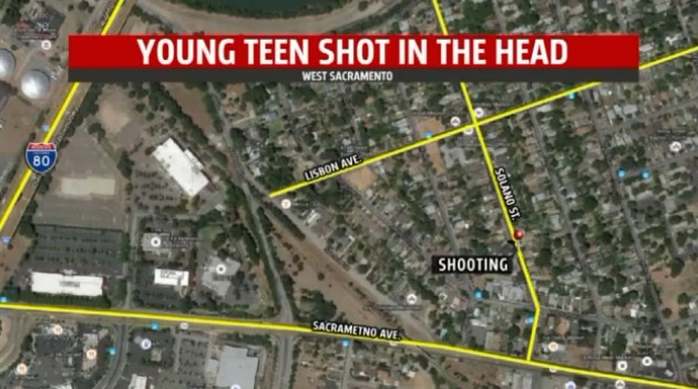 Teen critical after shots fired into home