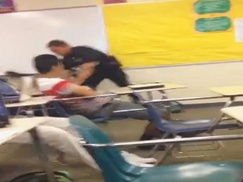 Feds to investigate violent S.C. incident of officer dragging student