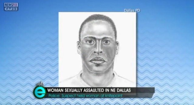 Dallas police release sketch of rape suspect