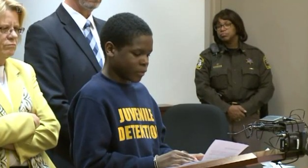 12-year-old murderer expresses remorse, is sentenced