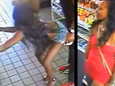 VIDEO: 2 women wanted for groping, grinding on man in D.C. store