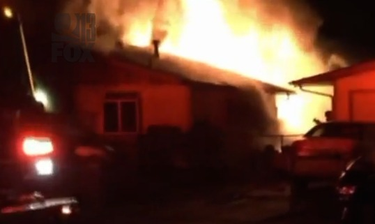 2 grandmothers, granddaughter forced from home by arsonist