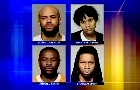 Four accused of conspiring to kill witness to fatal shooting
