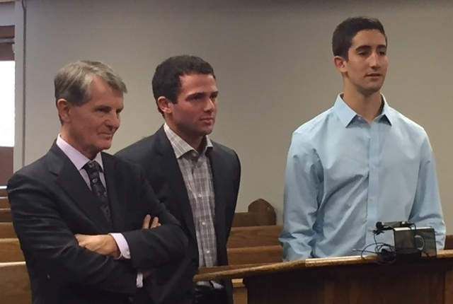 Frat leaders to plead no contest to vandalism charges