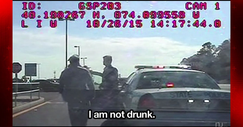 SEE IT: N.J. trooper charged with DWI claims 'I am not drunk' in dashboard video