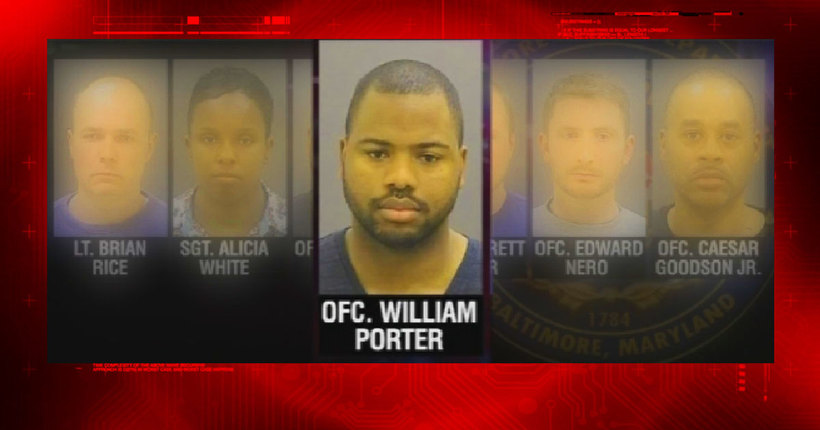 Jury seated for 1st officer trial in Freddie Gray case