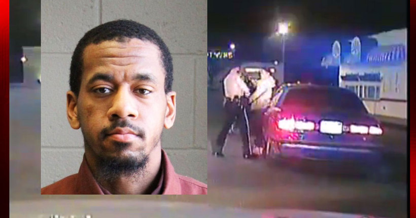 Graphic Video: Police release dash-cam video of wanted York city man shooting at police officer