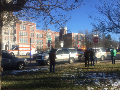 Denver school lockdown lifted; 2 students detained