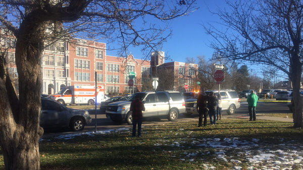 East High School lockdown lifted after reports of gun; 2 students detained