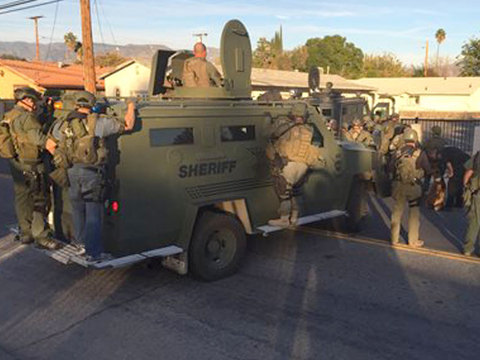 San Bernardino shooting update: Male, female suspect killed
