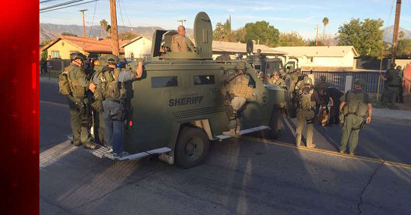 San Bernardino shooting: 14 dead, 17 injured; 2 suspects killed