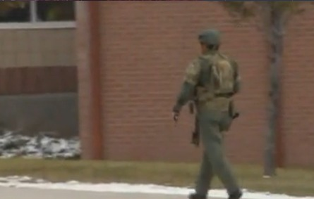 Police say student who reported gunman at school was 'sluffing'