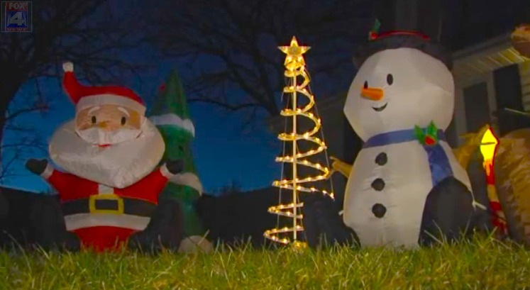 Thieves try to rob couple of Christmas spirit