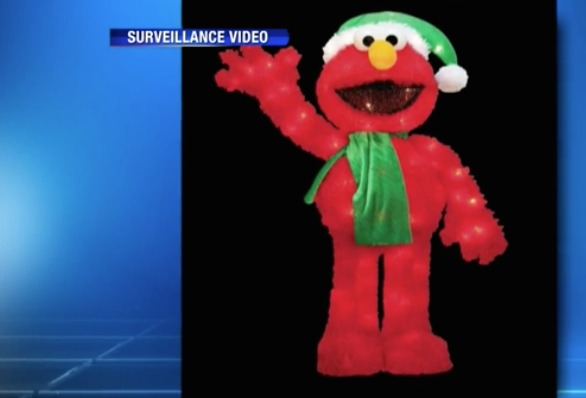 Family donates Christmas Elmo decoration after boy's is stolen