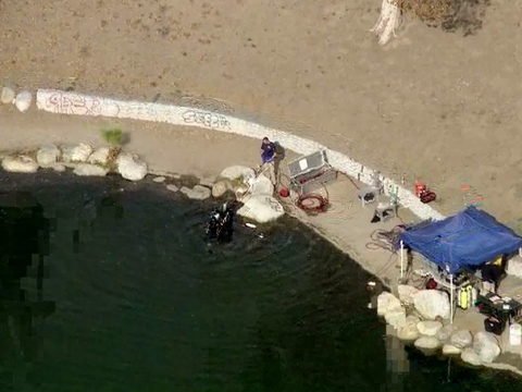 FBI divers search lake in San Bernardino shooting investigation