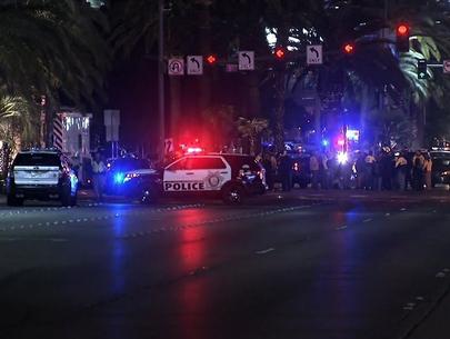 1 dead, 37 injured by car driven on Vegas Strip sidwalk