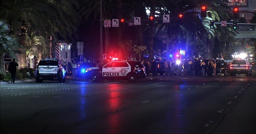 1 dead, 37 injured after car hits pedestrians on Las Vegas Strip in 'intentional' act: police