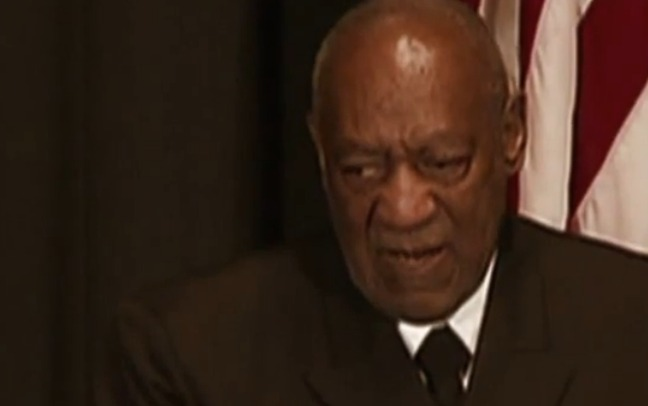 Bill Cosby says he couldn't have raped because he is blind