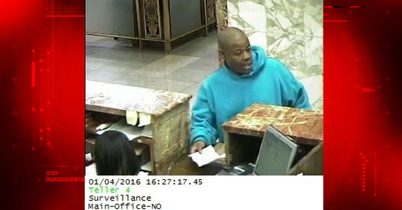 NOPD, FBI search for Gravier Street bank robber