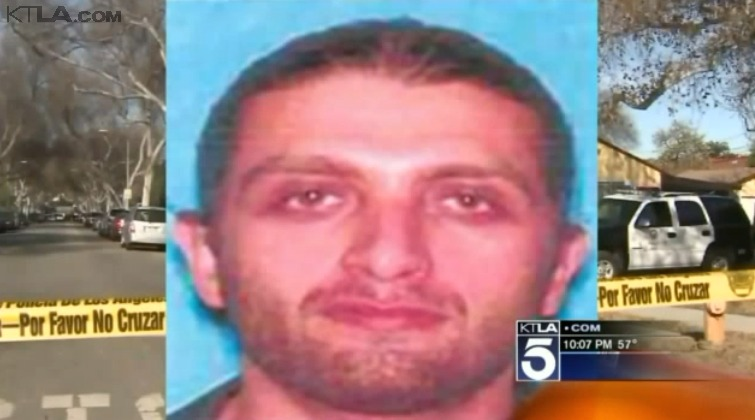 Armed and dangerous suspect involved in crash, police shooting, freeway shut-down