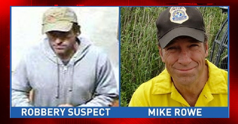 Mike Rowe: 'I am not the Medford robber'