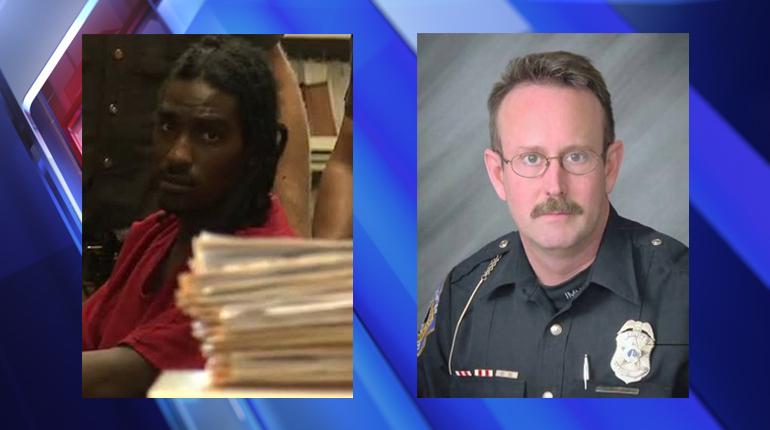 Accused cop killer sues victim, city for $2.3M